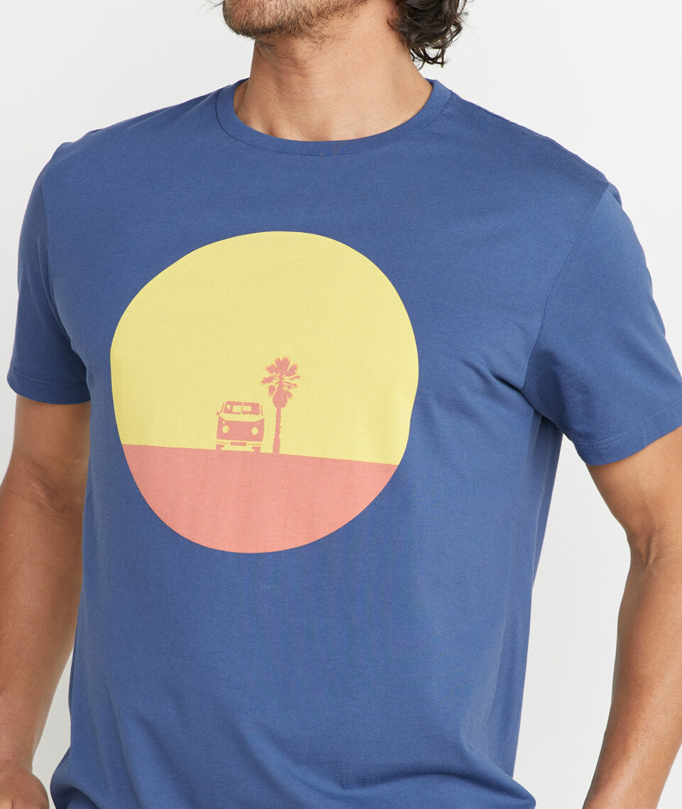 Sunset Bus Tee