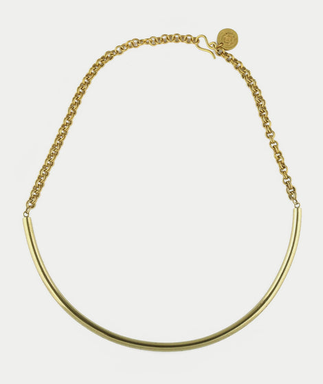 Soko Curve Bib Necklace