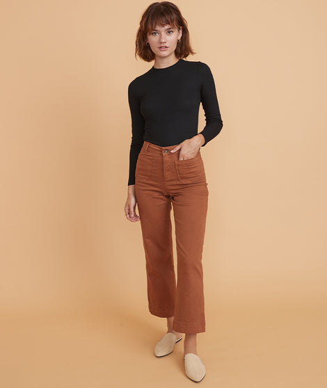 Bridget Pant in Camel