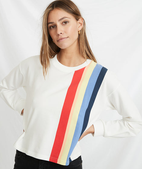 Tate Crop Sweatshirt