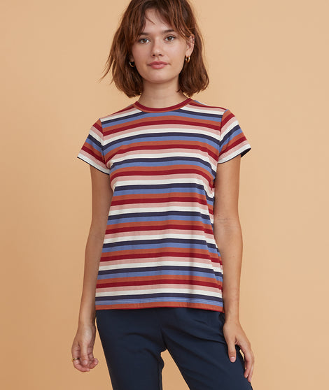 Swing Crew in Multi Stripe