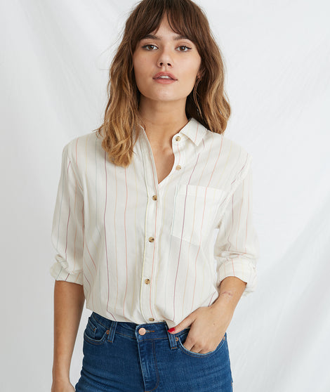 Viviana Boyfriend Button Down