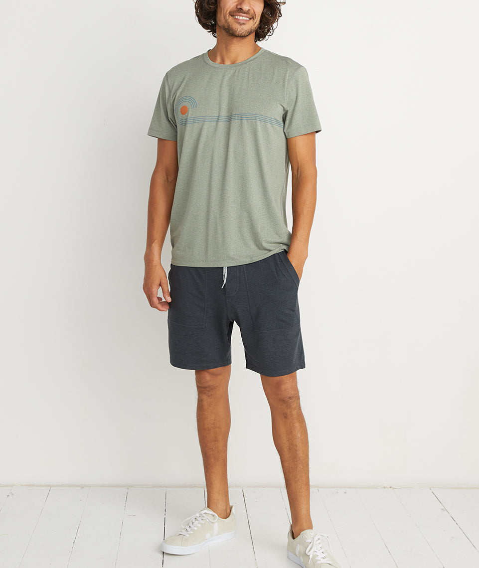 Sport Crew in Agave Green