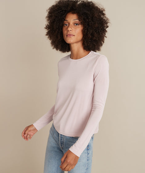 Ruca Crop Crew in Lilac
