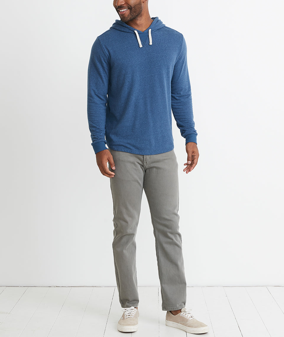 Double Knit Hoodie in Insignia Blue