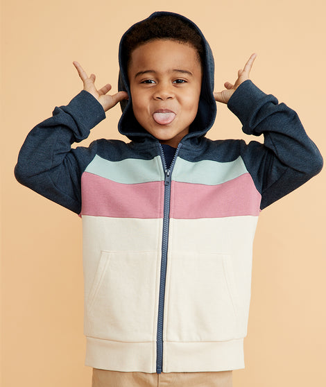 Mini Colorblock Sweatshirt