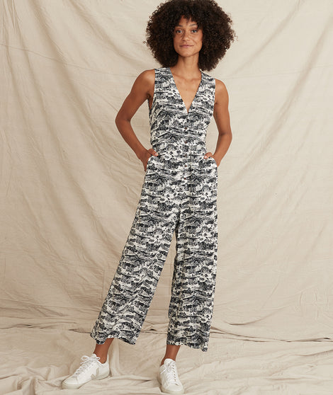 Holli Jumpsuit in SF Toile Print