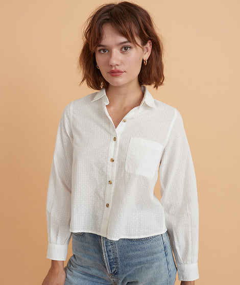 Silvia Relaxed Textured Shirt