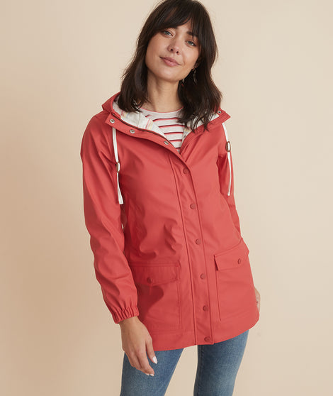 Aberdeen Raincoat in Baked Apple