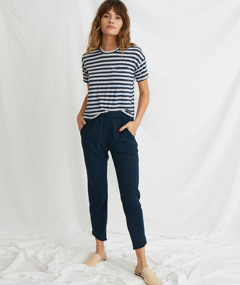 Allison Pant in Navy Blazer