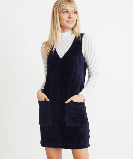 Leighton Dress in Navy Blazer