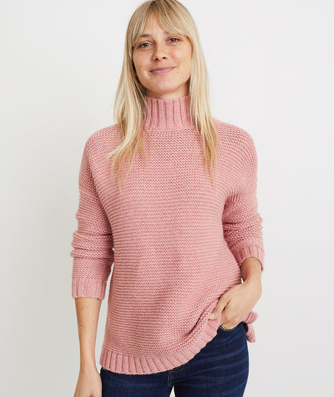 Remi Sweater in Ash Rose Heather