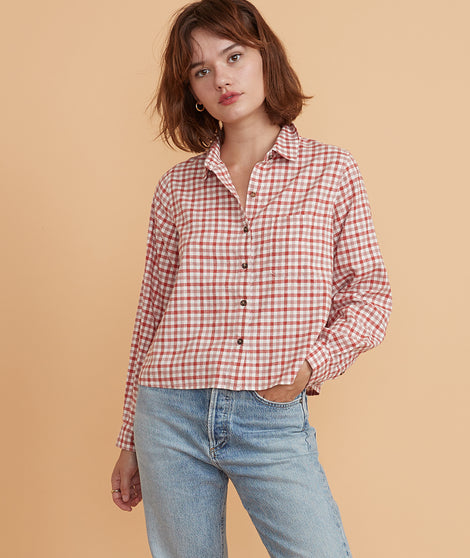 Madeline Relaxed Crop Shirt