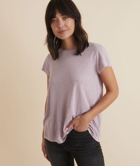 Swing Crew Tee in Mauve
