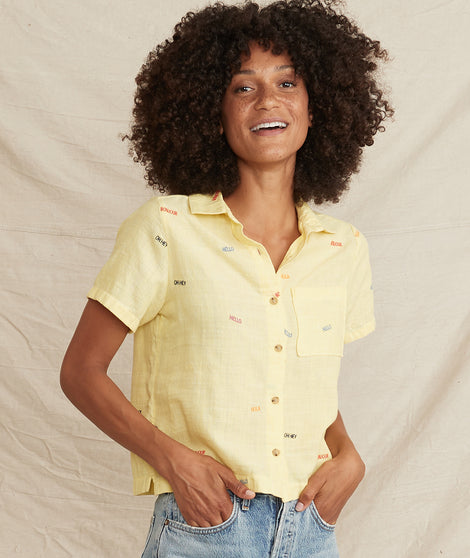 Talia Button Down