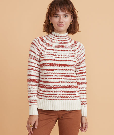 Amy Mock Neck Sweater