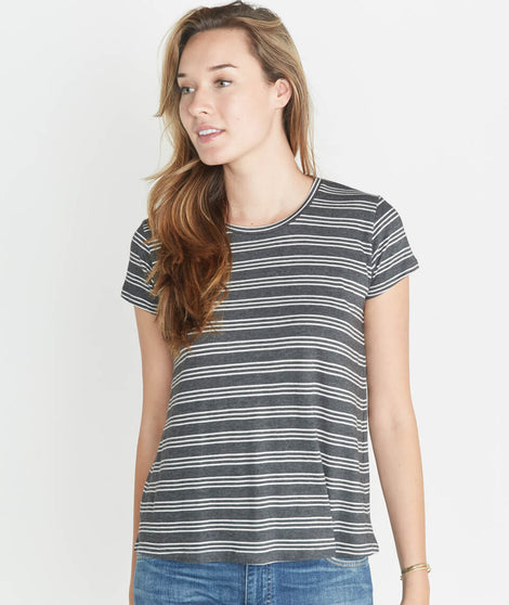 True Crew in Charcoal Stripe