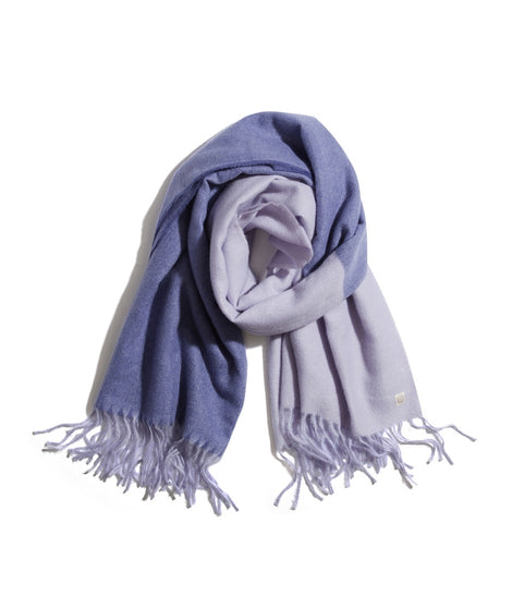 Two Toned Scarf in Purple/Lilac