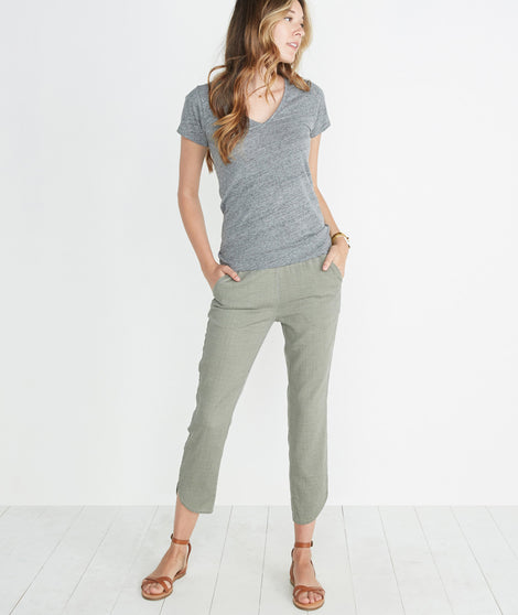 Allison Pant in Worn Olive