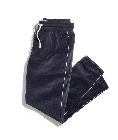 Velour Lounge Pant in India Ink