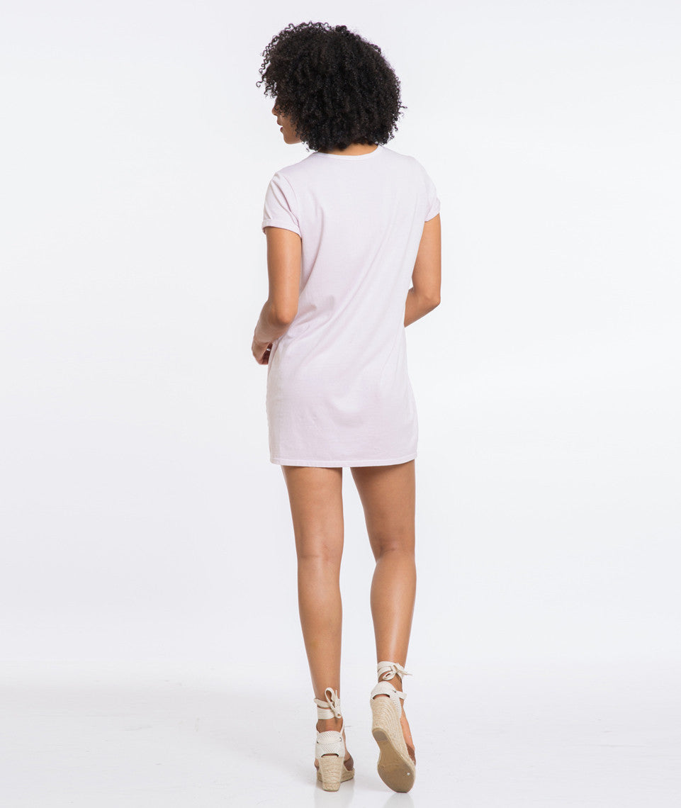 Wilton Shirt Dress - Lavender Fog