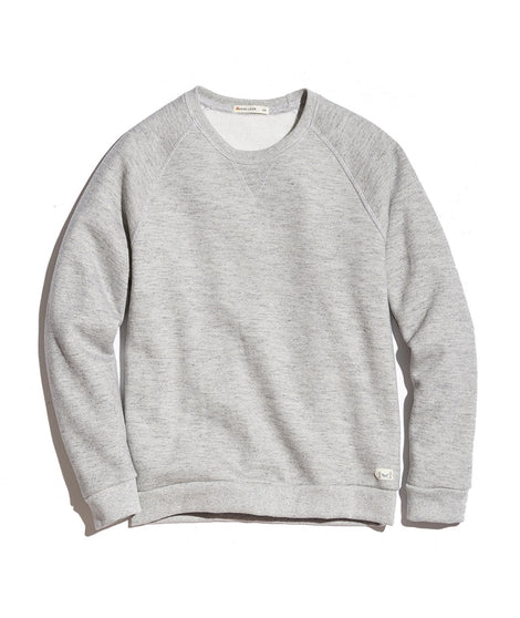 Women's Sherpa Crew Pullover in Heather Grey