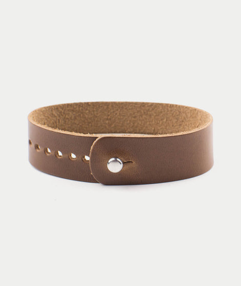 Form.Function.Form Leather Watch Band in Natural Chromexcel