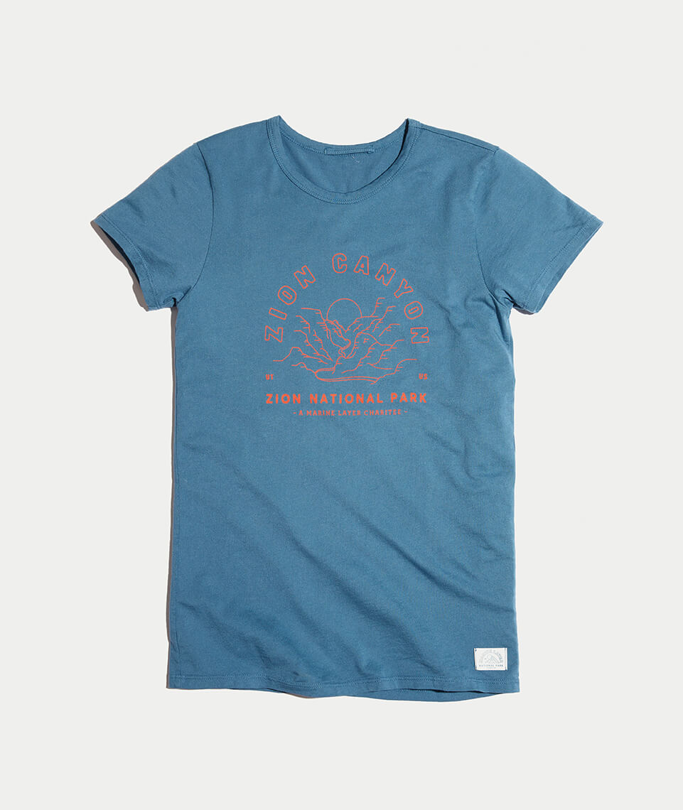 The Zion Canyon Tee - Gals