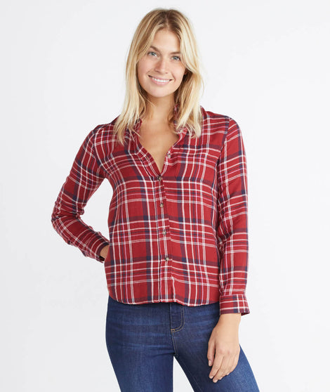 Abby Button Down