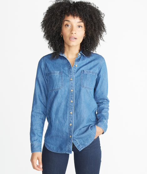 Adler Denim Button Down