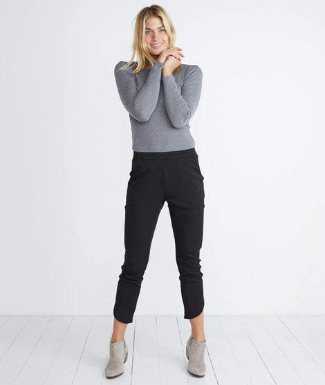 Allison Pant in Black