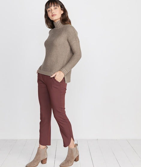 Allison Pant in Raisin