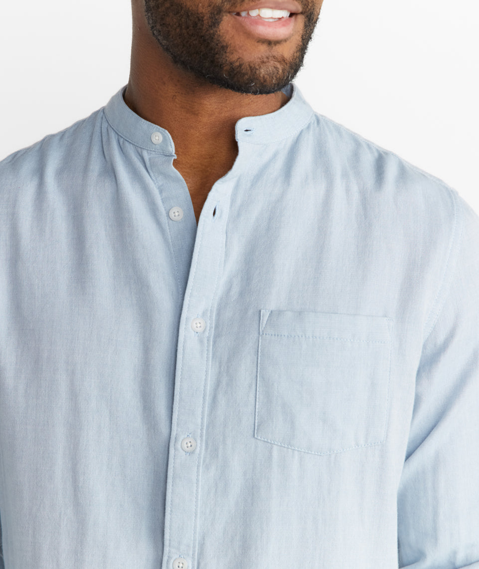 Allston Banded Collar Buttondown