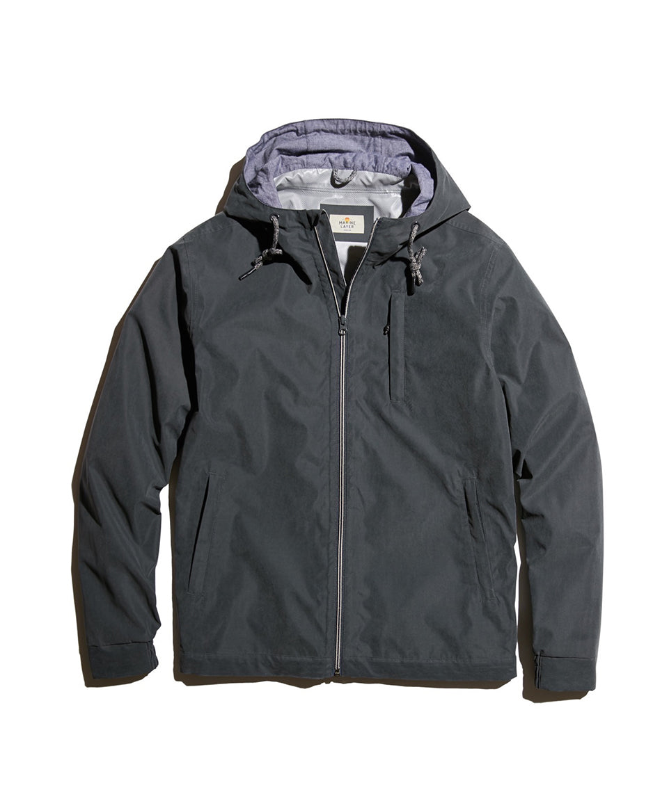 Alta Jacket in Faded Black