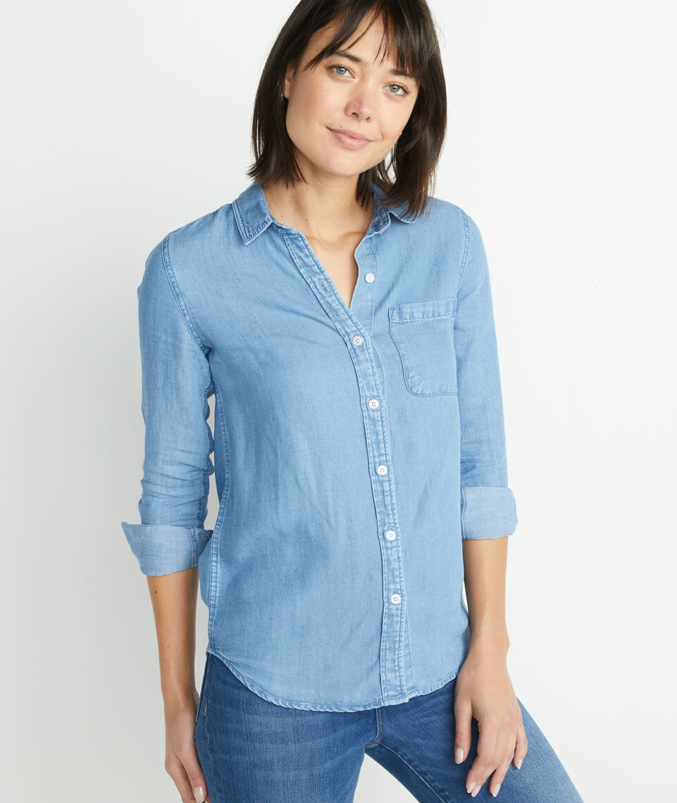 Annecy Button Down