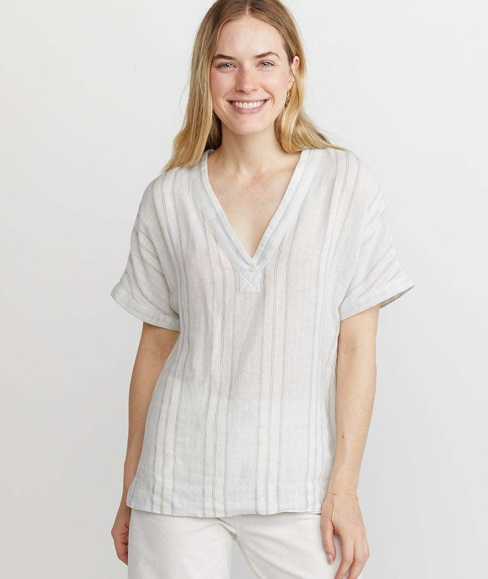 Bali Tunic in Multi Stripe