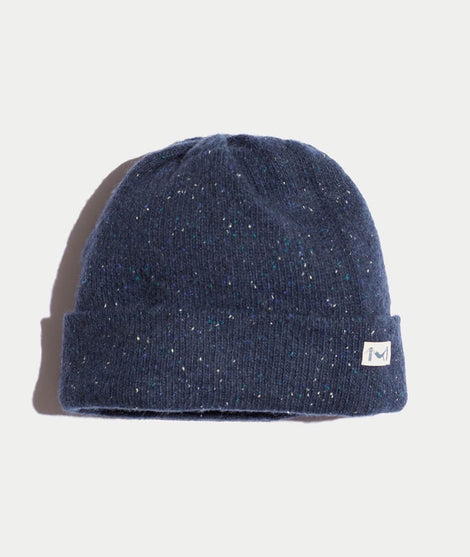 Rice Beanie in Speckle Blue