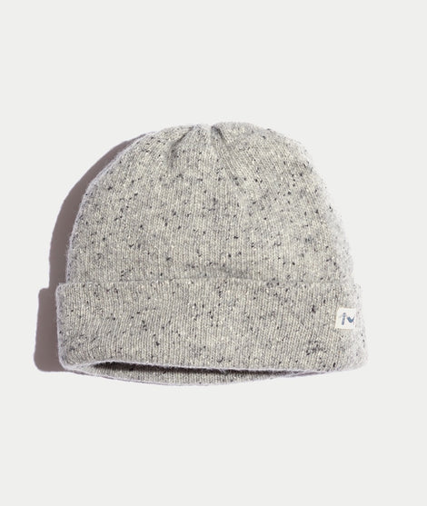 Rice Beanie in Heather Grey