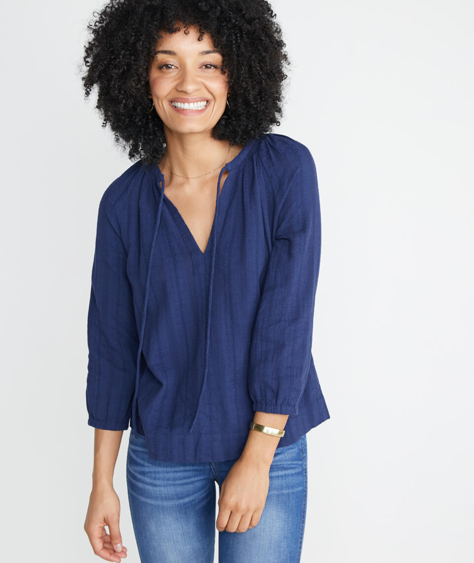 Penny Blouse in Twilight