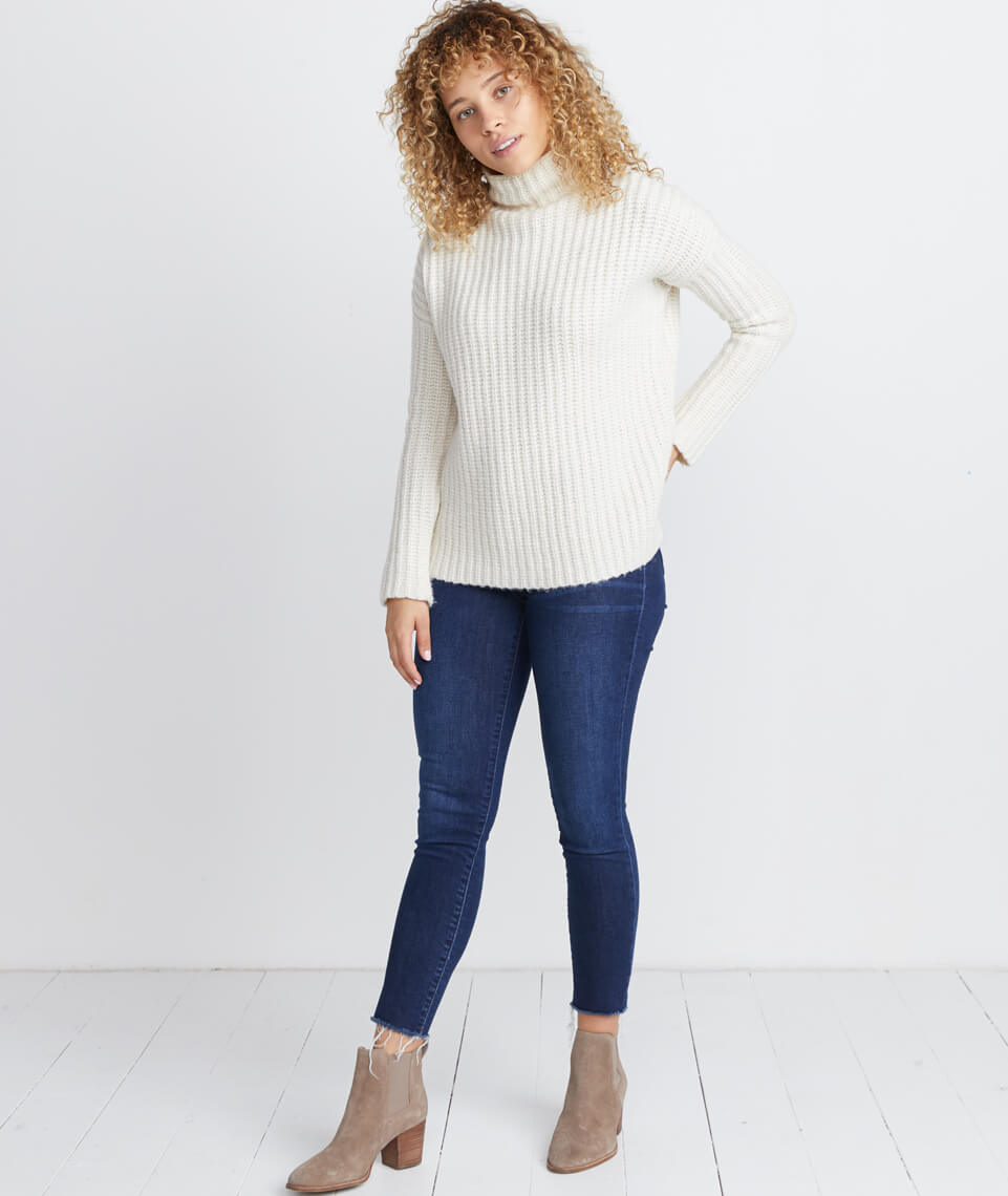 Brandie Funnel Neck Sweater