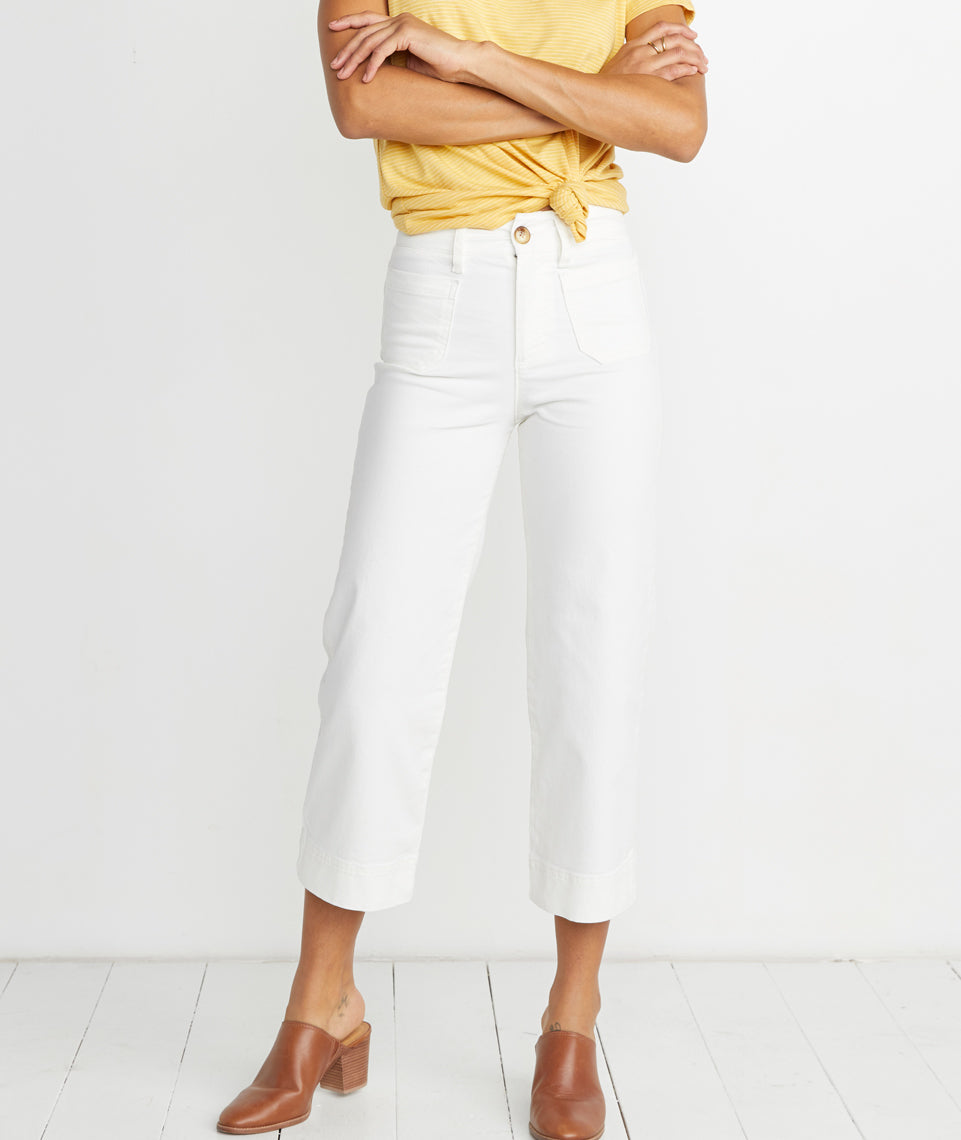 Bridget Pant in White