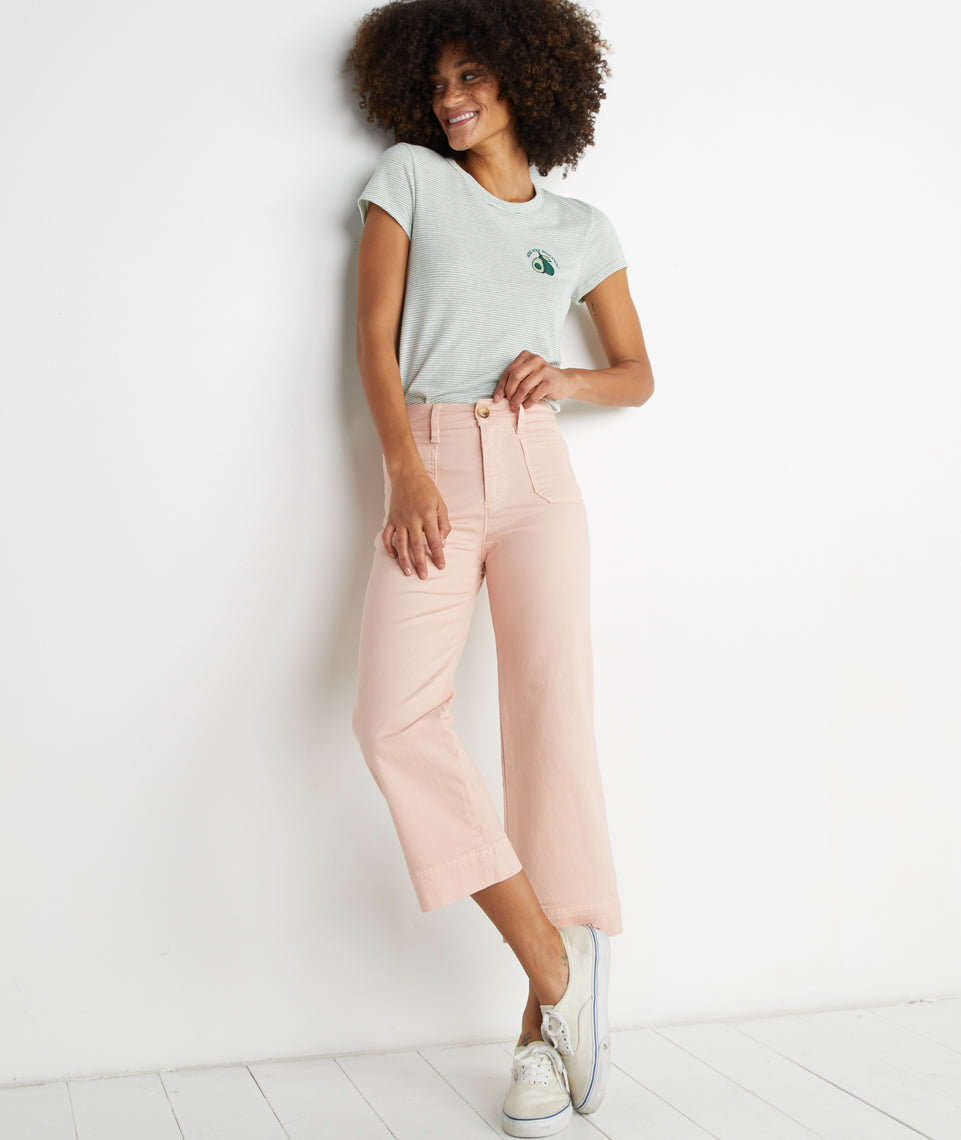 Bridget Pant in Rose Cloud