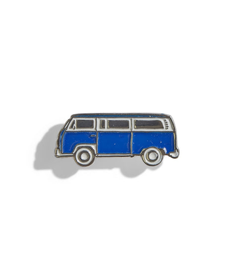 Bus Pin in Blue