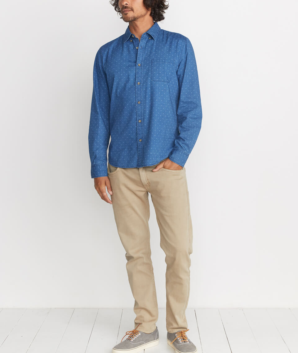 Cabrillo Button Down