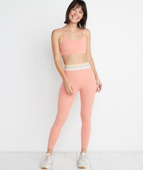 Chill Legging in Rose Cloud