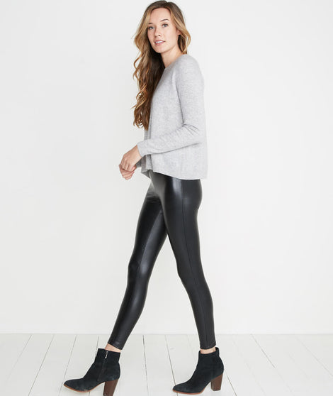 Chloe Leather Legging