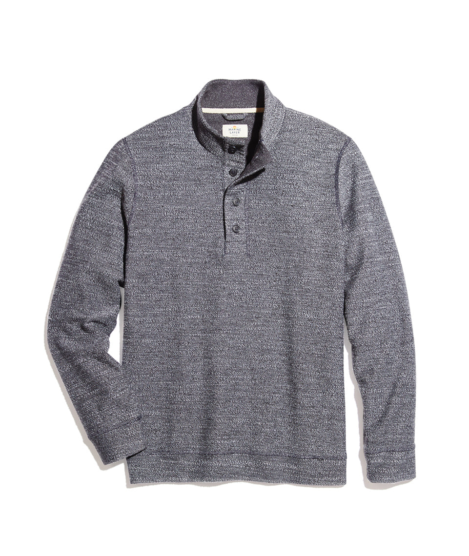 Clayton Pullover in Charcoal Heather