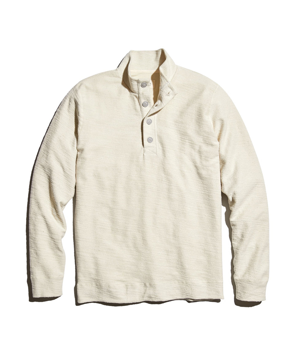 Clayton Pullover in Oatmeal Heather