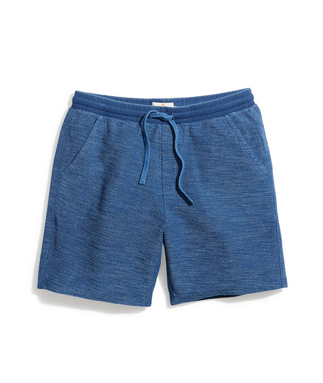 Clayton Indigo-Dyed Short in Dusk Blue