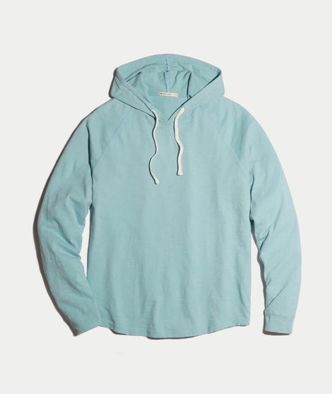 Columbia Hoodie in Faded Teal